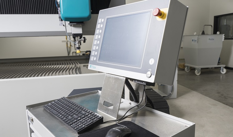 The roll-around control increases flexibility of the Mach 700